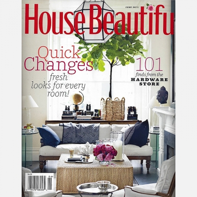 2011 June House Beautiful - Cover