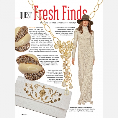 2015 Quest Magazine - Fresh Finds Page 1