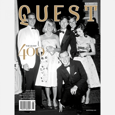 2016 August Quest Magazine - Cover
