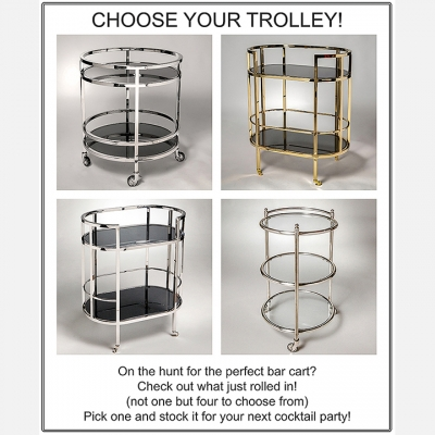 CHOOSE YOUR TROLLEY!