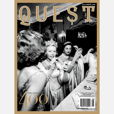 2018 AUGUST - QUEST MAGAZINE COVER