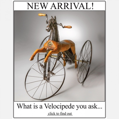 2018 SEPTEMBER - What is a Velocipede...