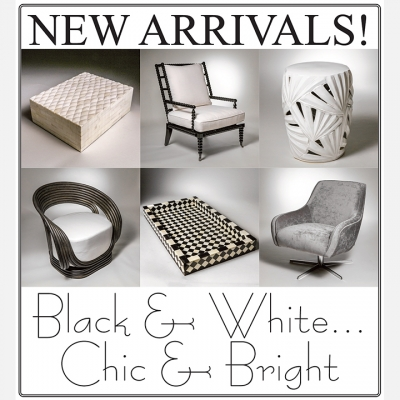 2019 JANUARY - Black & White...Chic & Bright