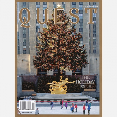 2020 DECEMBER - Quest Magazine Cover