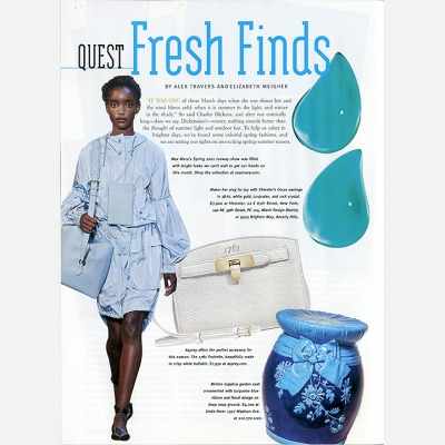2021 MARCH - QUEST MAGAZINE FRESH FINDS