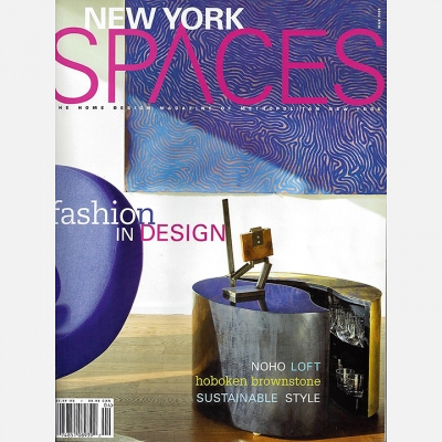 2009 March New York Spaces - Cover