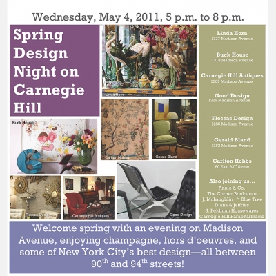 2011 Carnegie Hill Design Night