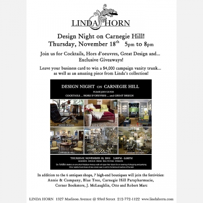 2010 Carnegie Hill Design Night