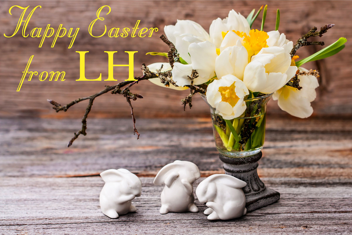 Happy Easter from LINDA HORN