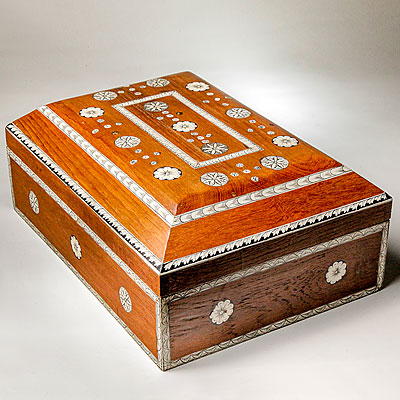 DOME TOP INLAY BOX