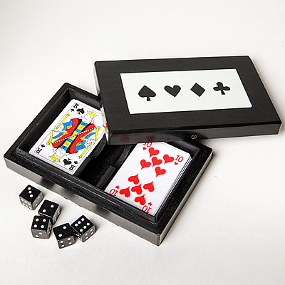 DICE & CARD BOX
