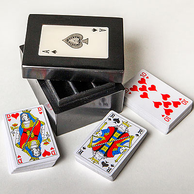 ACE OF SPADES CARD BOX