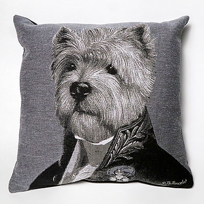 DOG PILLOW NORWICH TERRIER
