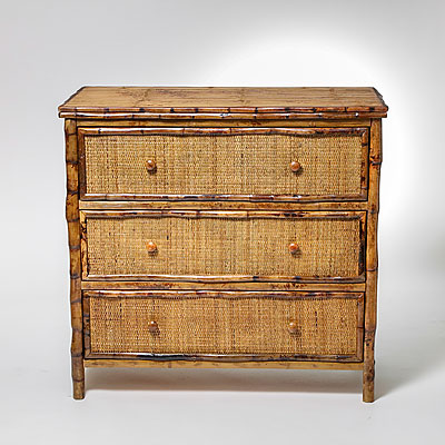 BAMBOO BACHELOR CHEST
