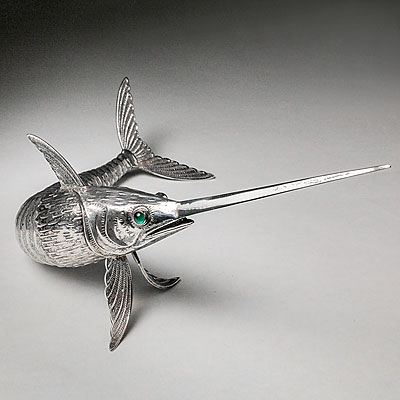 ARTICULATED SILVER SWORDFISH