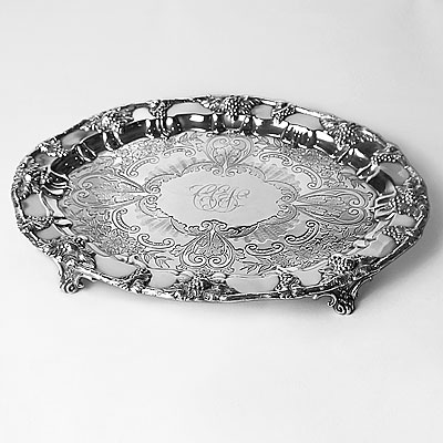 SHEFFIELD SILVER TRAY