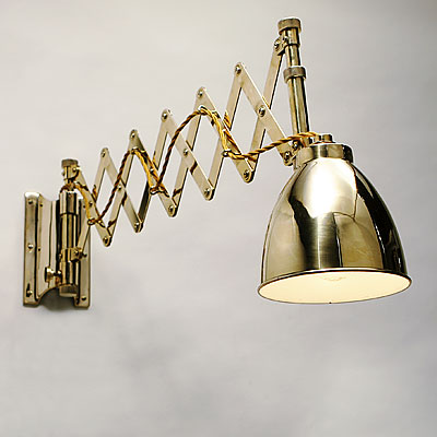 BRASS CHART ROOM LAMP