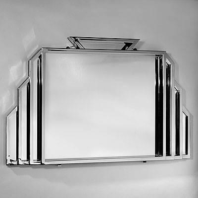 FOUR ART DECO MIRRORS