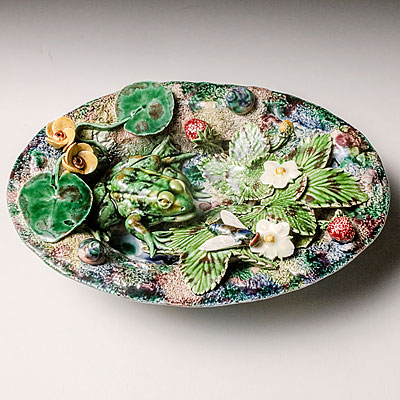 EXTRA SMALL OVAL PALISSY PLATE