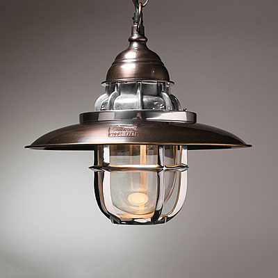 HANGING STEAMER LAMP