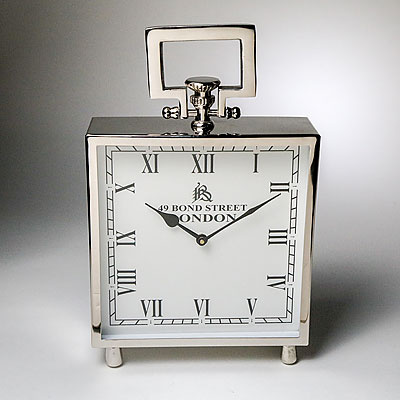 LARGE HANDLED SQUARE CLOCK