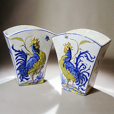 FRENCH GALLE POTTER VASES