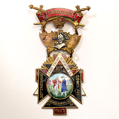 BATTLE OF SARATOGA MEDAL