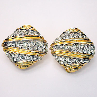 CAROLEE RHINESTONE EARRINGS