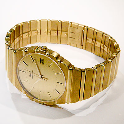 MEN'S PIAGET POLO GOLD WATCH