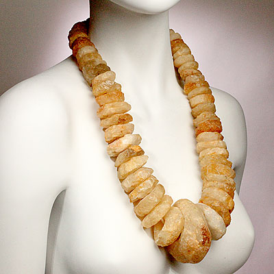 CHUNKY ROCK NECKLACE