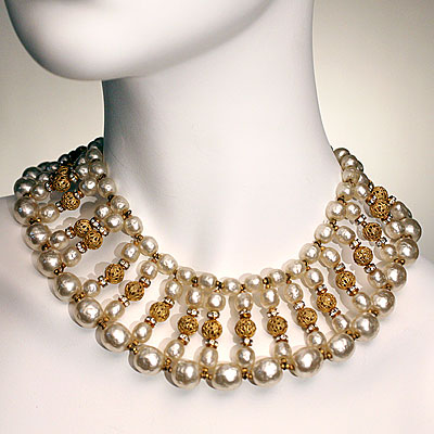 HASKELL PEARL CHOKER NECKLACE
