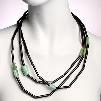 GERDA HORN & TURQUOISE NECKLACE