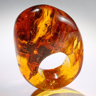 AMBER RING BY MONIES