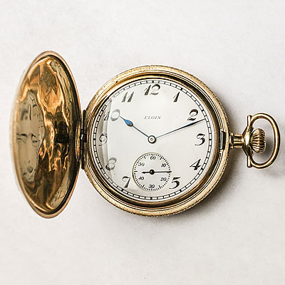 POCKET WATCH LARGE ANTIQUE