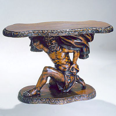 CARVED ITALIAN LOW TABLE