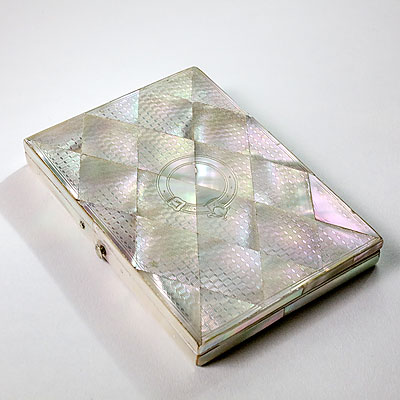 MOTHER OF PEARL CASE