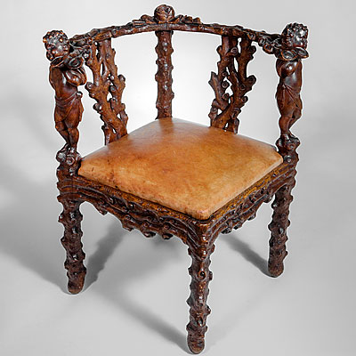 BAVARIAN CORNER CHAIR