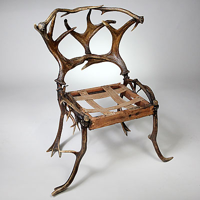 AUSTRIAN ANTLER CHAIR