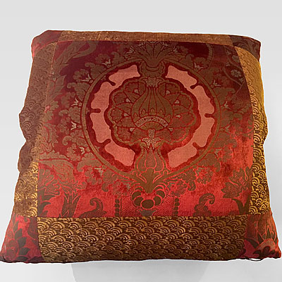 LARGE SQUARE FORTUNY PILLOW