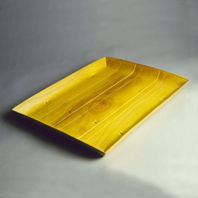 CARVED JEPAR TRAY