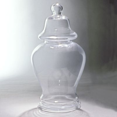 GLASS JAR WITH LID