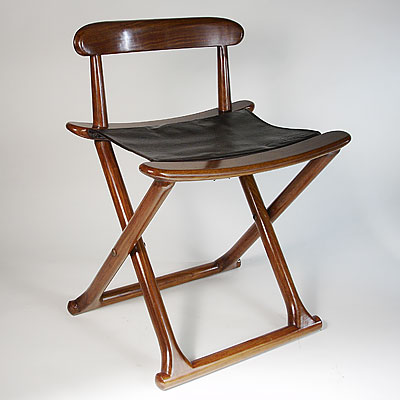 CHAIR-BACK POLO STOOL