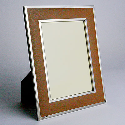 CAMEL LEATHER FRAME