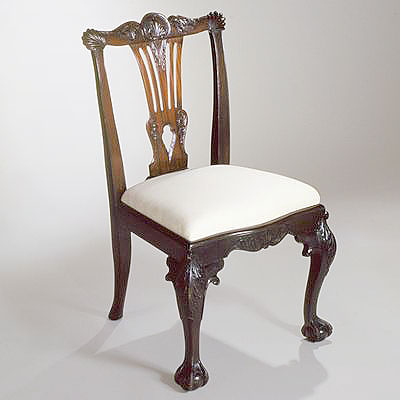 IRISH MAHOGANY CHAIRS