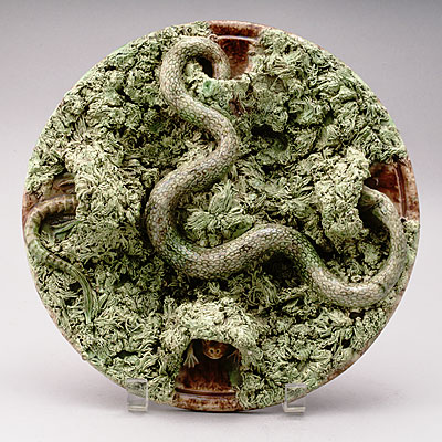PORTUGUESE PALISSY CAVE DISH