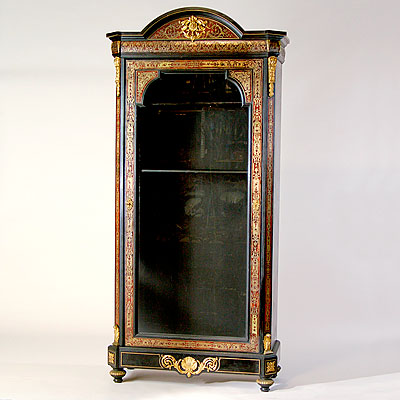 FRENCH BOULLE CABINET
