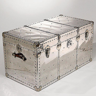 POLISHED ALUMINUM TRUNK