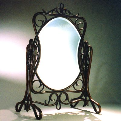 BENTWOOD TABLE MIRROR