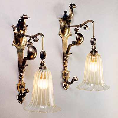 EDWARDIAN STYLE WALL SCONCES