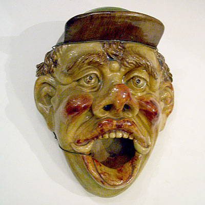 CERAMIC MASK WALL HANGING